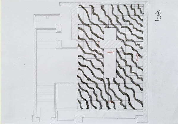 Floor plan for artwork 1